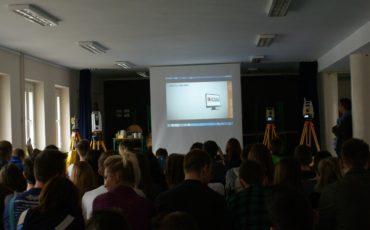 Prezentacja Geomax w Zespole Szkół Budowlano-Ceramicznych