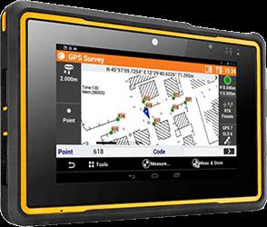 X-PAD – oprogramowanie dla urządzeń geodezyjnych marki Geomax