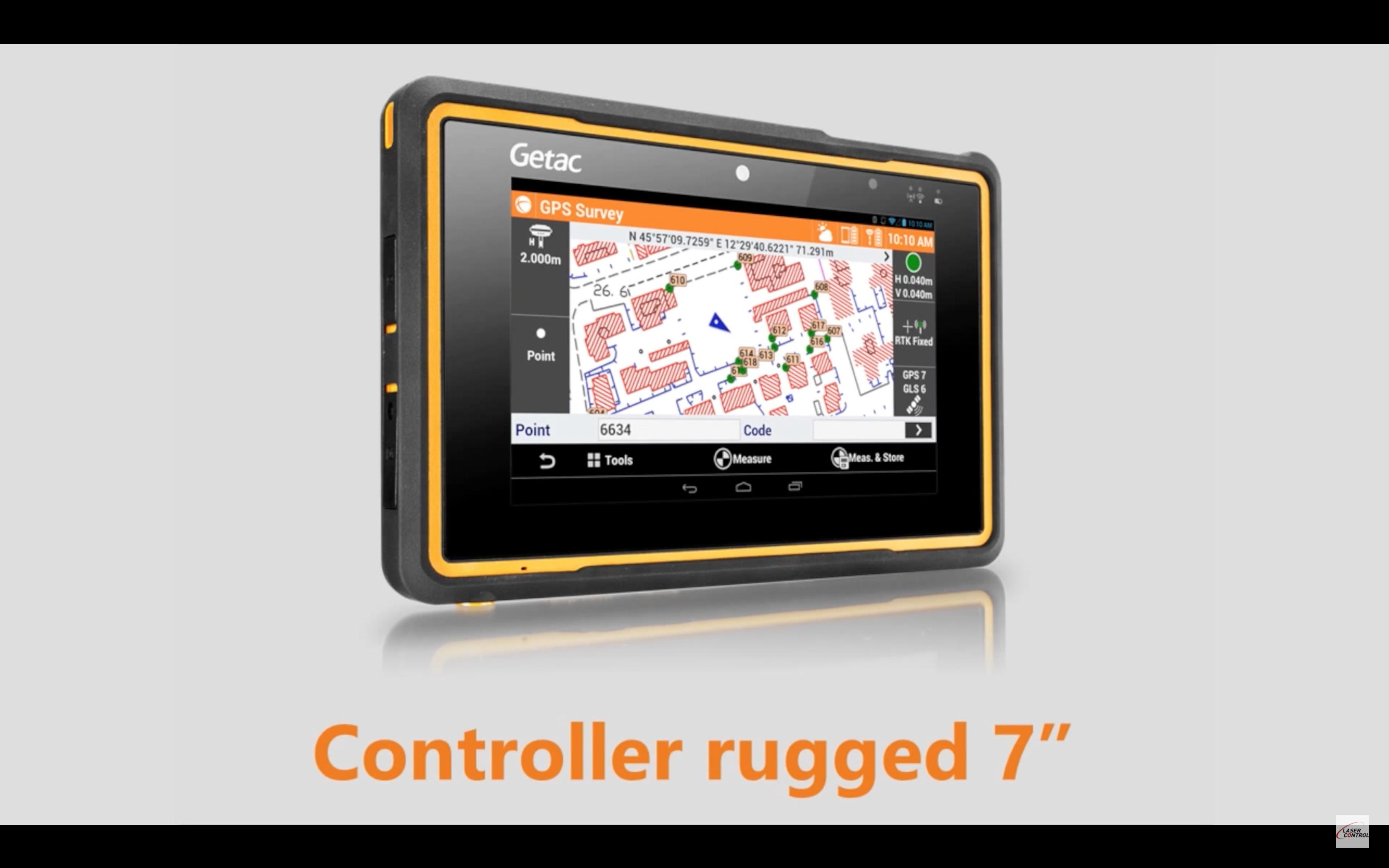 GeoMax X-Pad Android XPAD GNSS GPS TPS