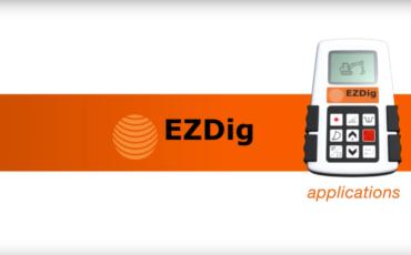GeoMax EzDig Standard applications