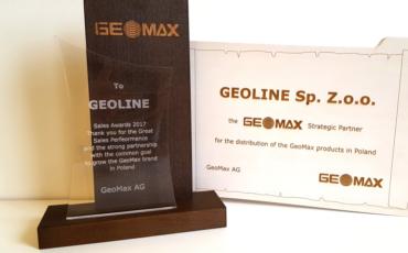 Geoline Strategicznym Partnerem Geomax