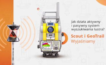 Pasywny i aktywny system wyszukiwania lustra w urządzeniach marki Geomax
